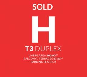 APARTMENT H T3 DUPLEX