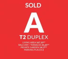 Apartment A T2 DUPLEX